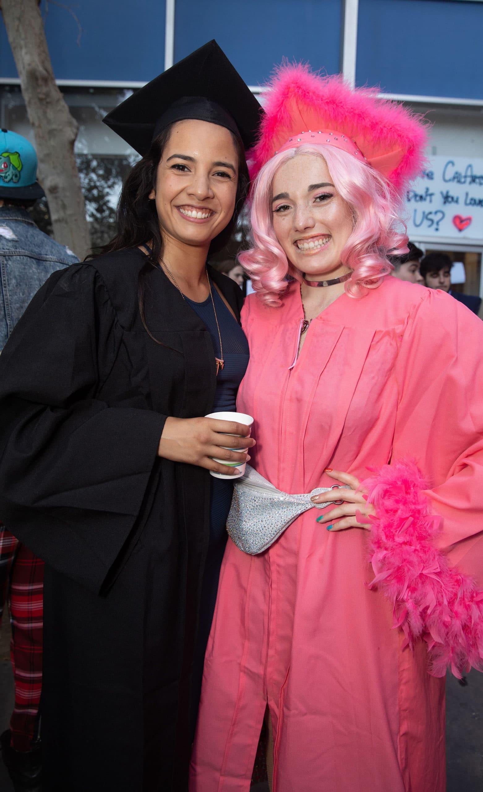 CalArts Graduation: Heaven Gonzalez and Kaz Tarshis