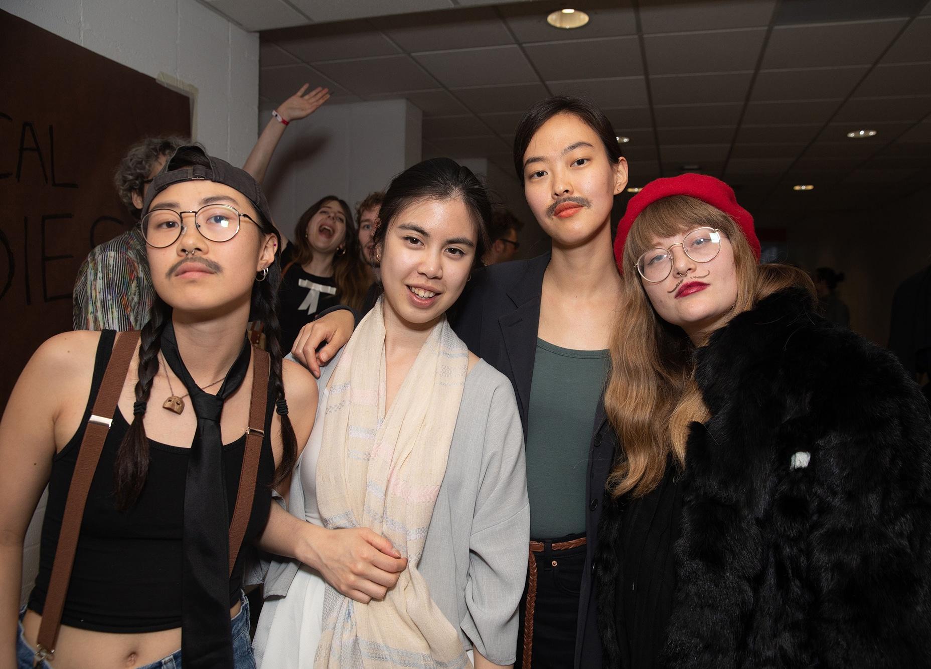CalArts Graduation: Danski Tang, Louise Pau, Kyungwon Song, and Marta Tiesenga