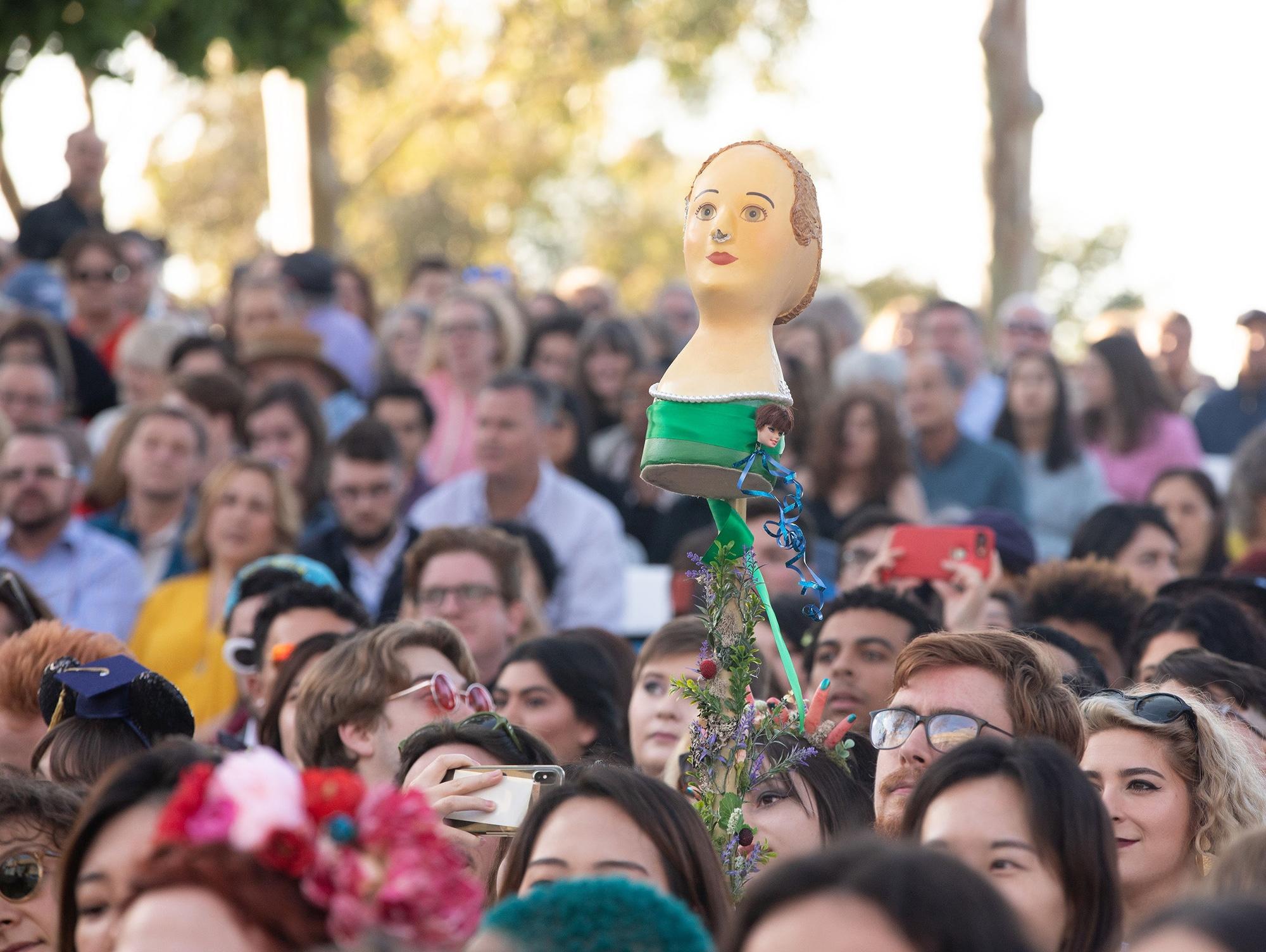 CalArts Graduation: A sea of graduates