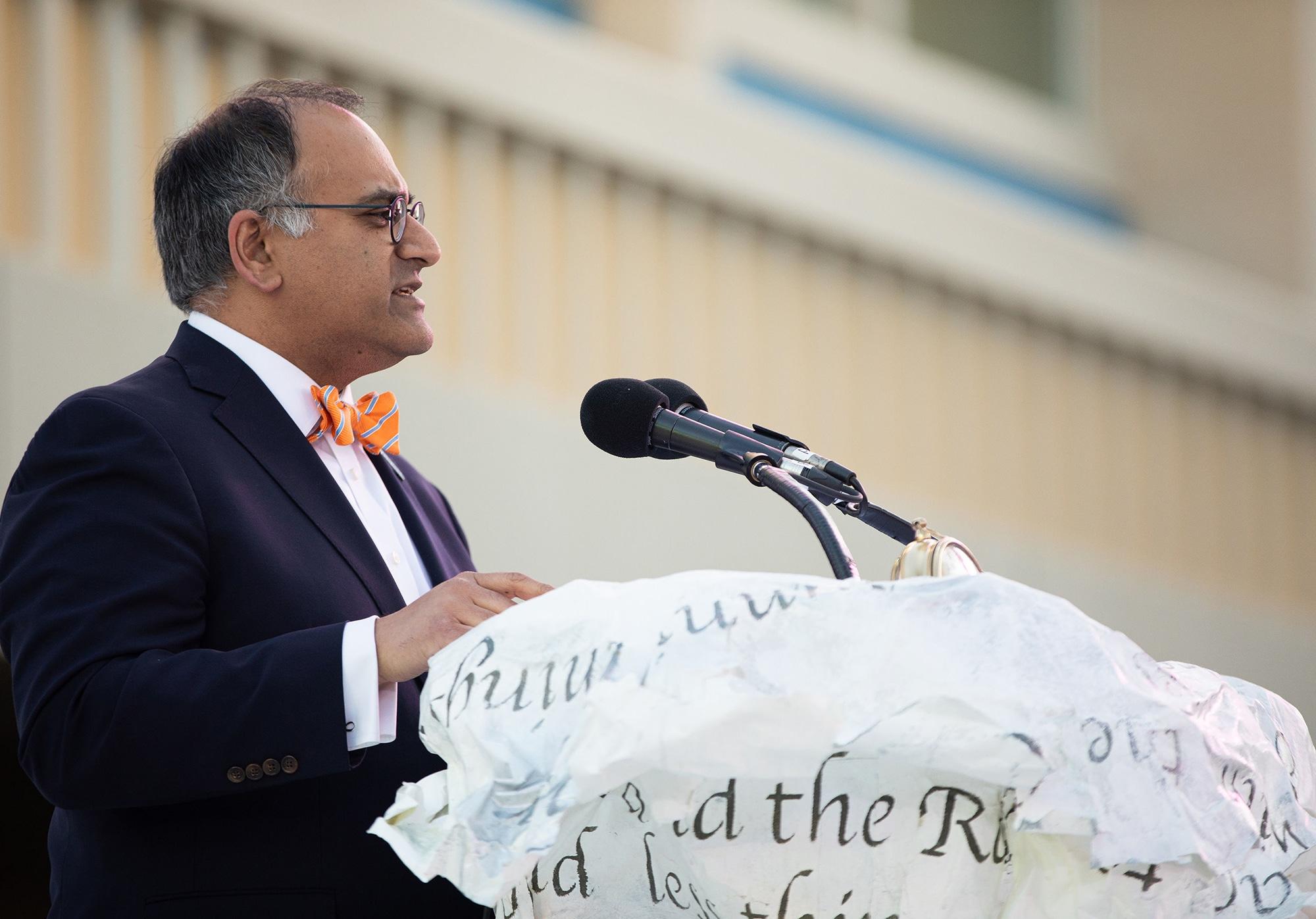 CalArts Graduation: President Ravi S. Rajan