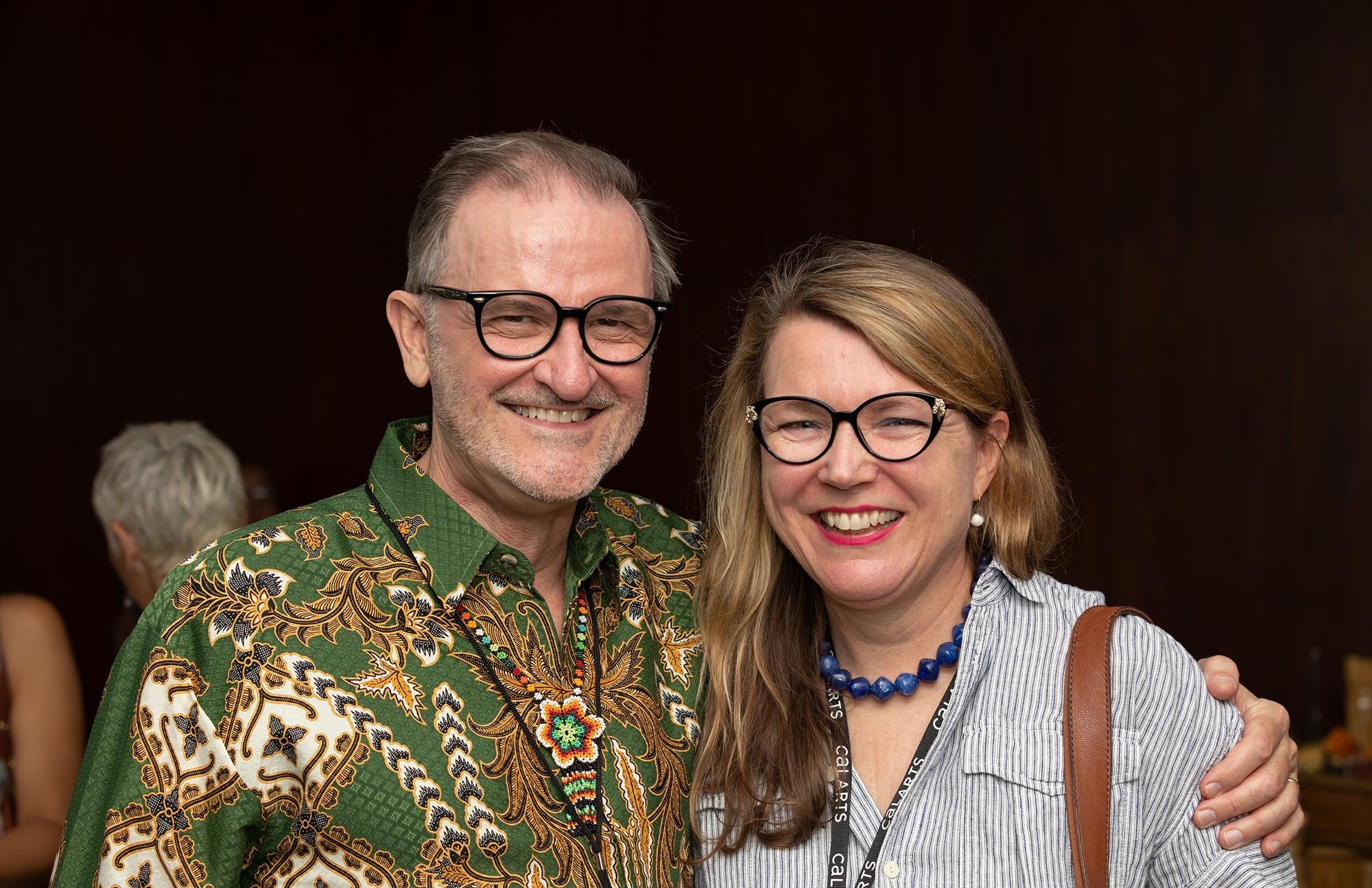 David Rosenboom and Nicki Voss (BFA 88, MFA 90).