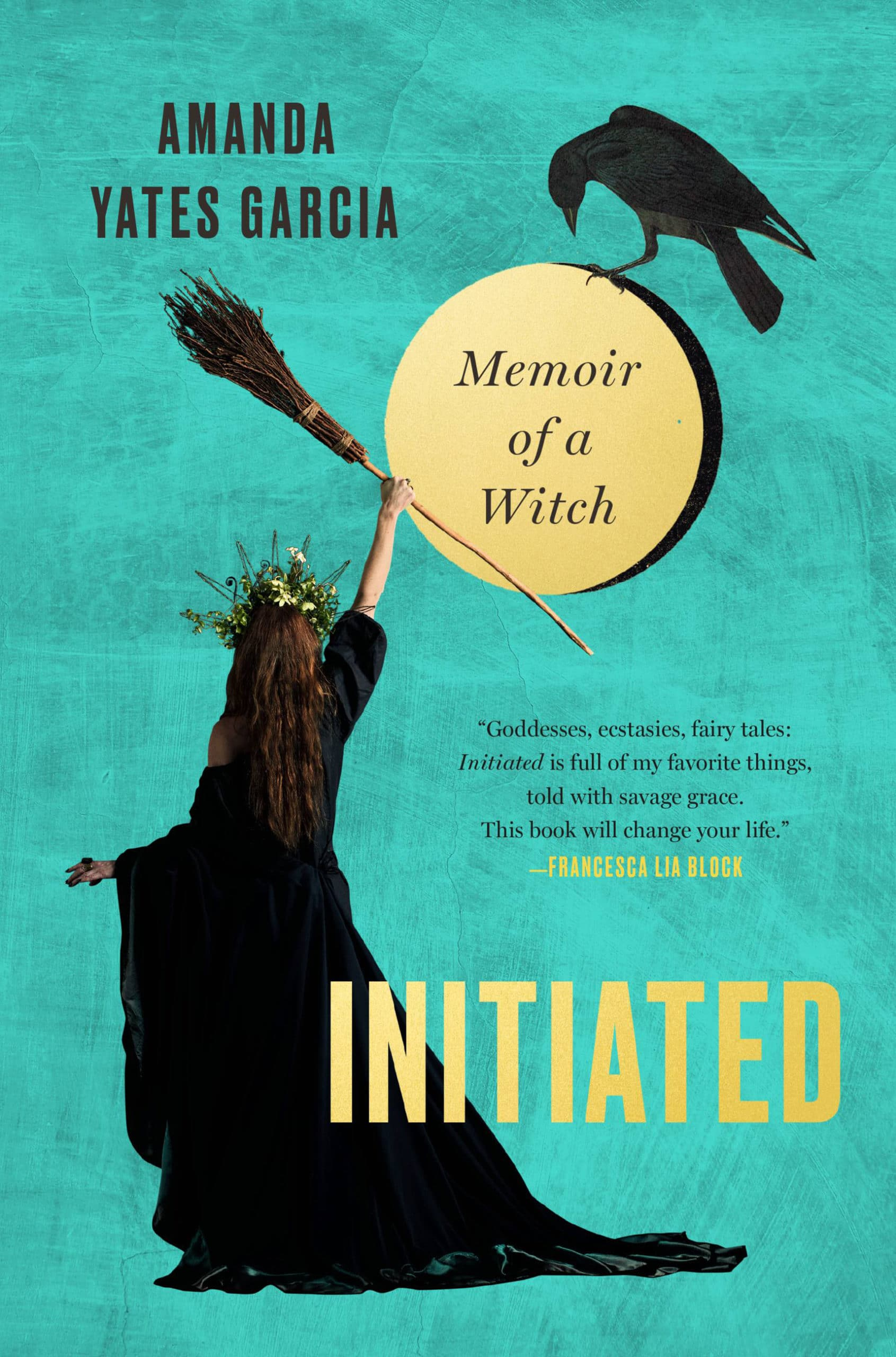 Book Cover of Initiated by Amanda Yates Garcia