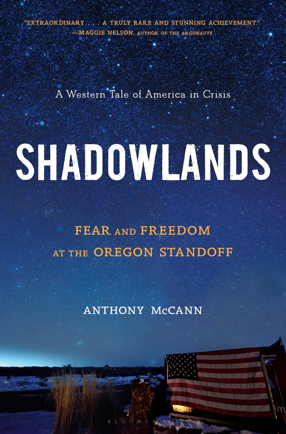 Anthony McCann's Shadowlands Book Cover