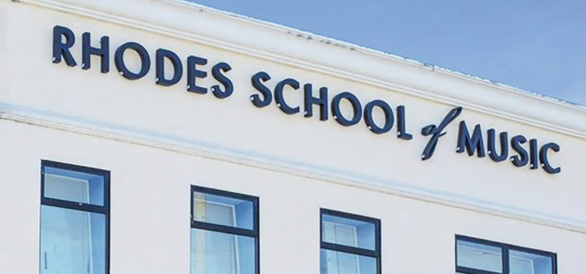 Rhodes School of Music Building