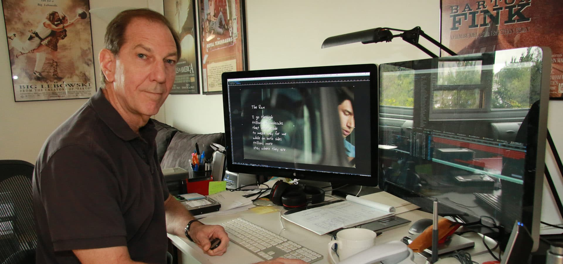 Visuals Effects and Title Designer Randy Balsmeyer, Courtesy of the Artist