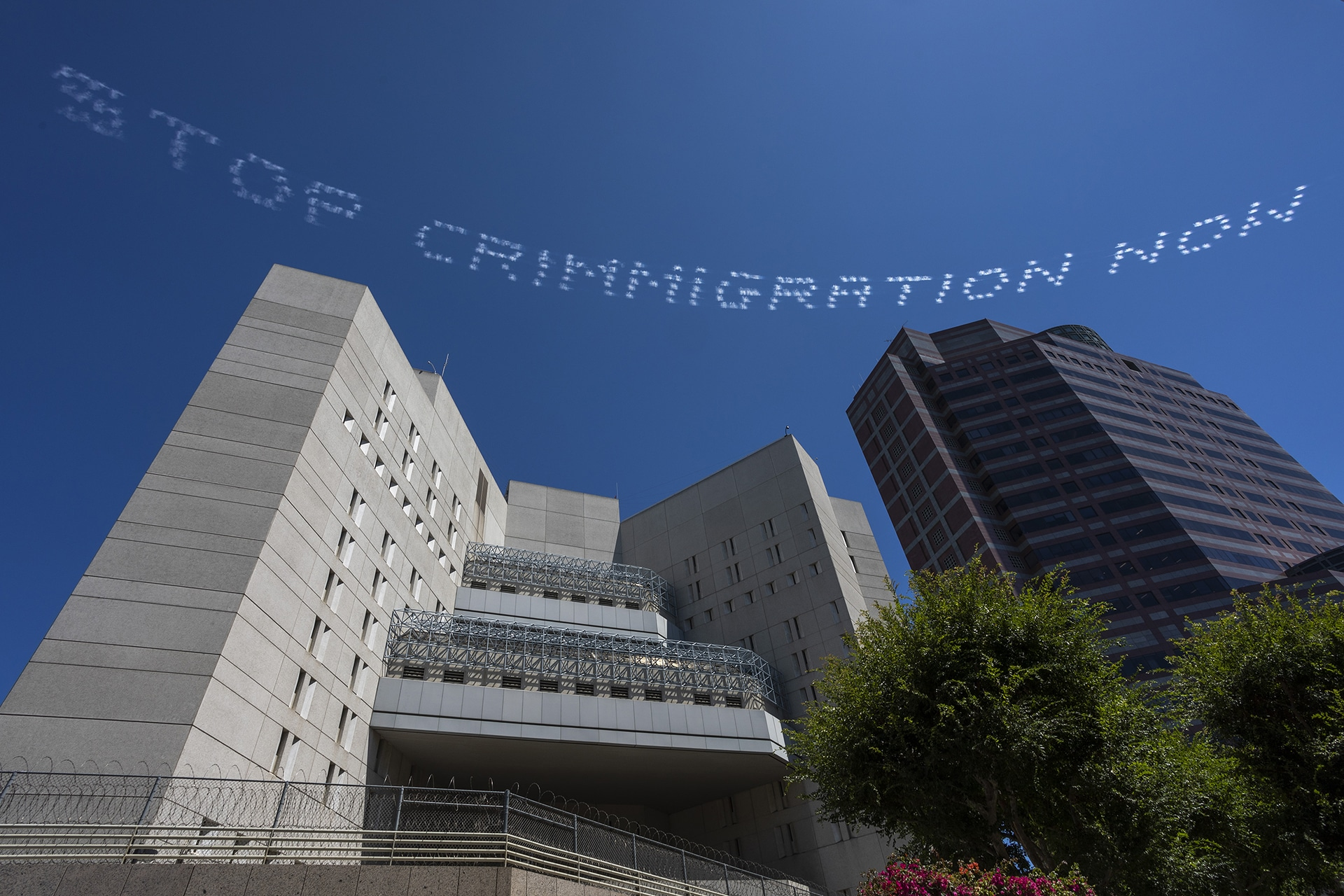 skytyping that says stop crimmigration now